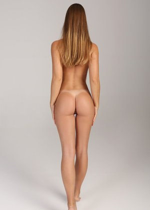 ass standing up nude