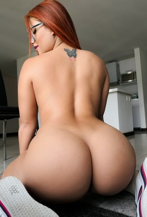 Beautiful girl nude butts